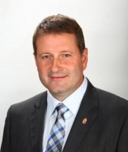 Kreisz László Taksony polgármestere, portréfotó